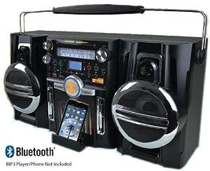 Retro ghetto blaster portable boombox music system electronics - Ghetto blaster acheter ...