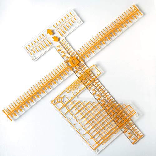 Bundle Pack: Tee Square It & Logo Grid It Vinyl Crafting Alignment Tools