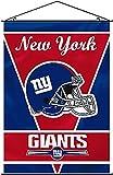Fremont Die New York Giants 28x40 Satin Polyester Wall Banner