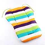 Yosoo Baby Stroller Cushion Pad Pram Padding Liner Car Seat Pad Rainbow Waterproof (type 3)