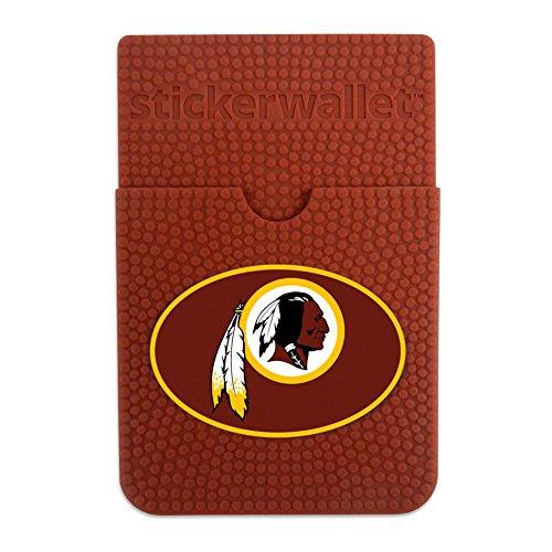 GameWear NFL Washington Redskins Sticker Wallet, Brown, N/A