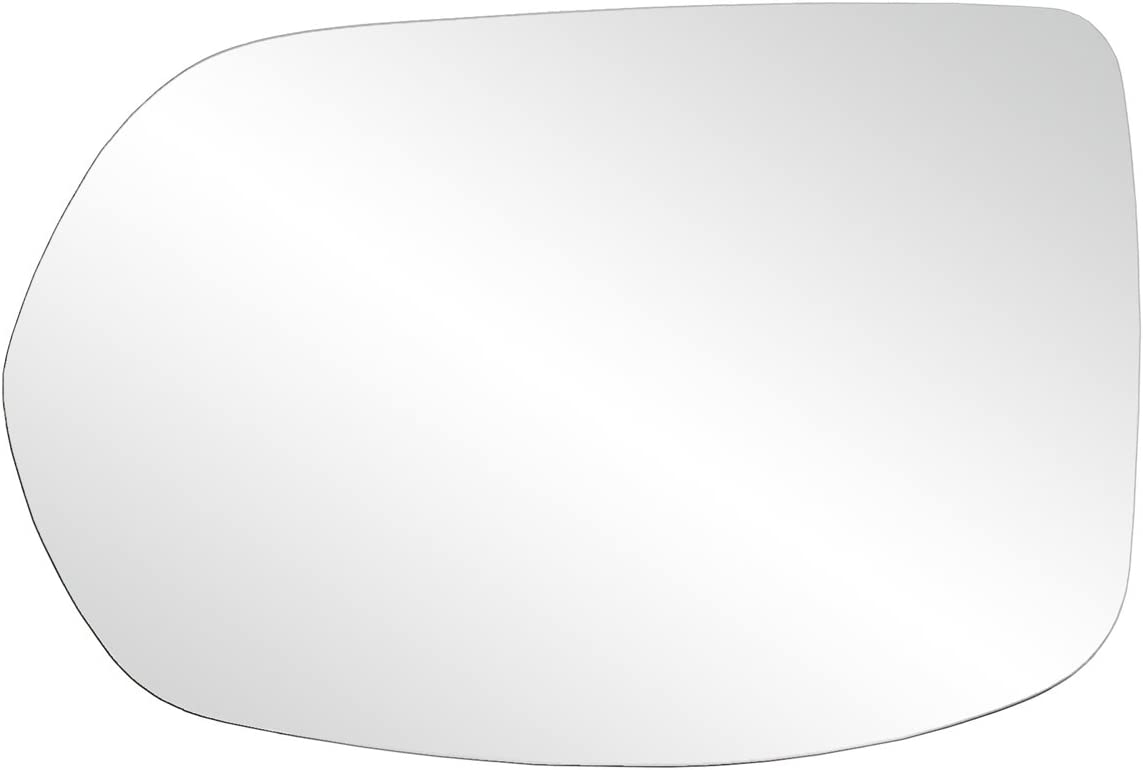 Fit System 33268 Honda CR-V EX-L Left Side Heated Power Replacement Mirror Glass with Backing Plate