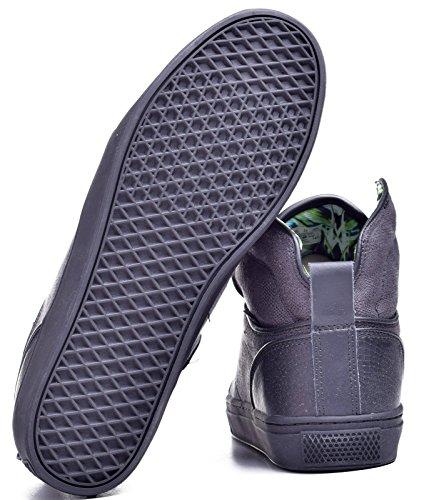 Vans Alomar Reptile Black / Black Mens Hi Top Scarpe Da Skate Classiche