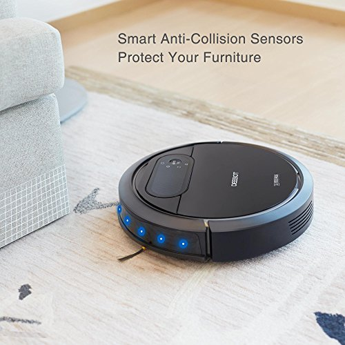 ECOVACS N78 Vacuum Cleaner Direct Suction, Navigation Pet Thin Hardwood and Tile Floors
