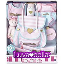 You & Me Luvabella Doll Diaper Bag Set