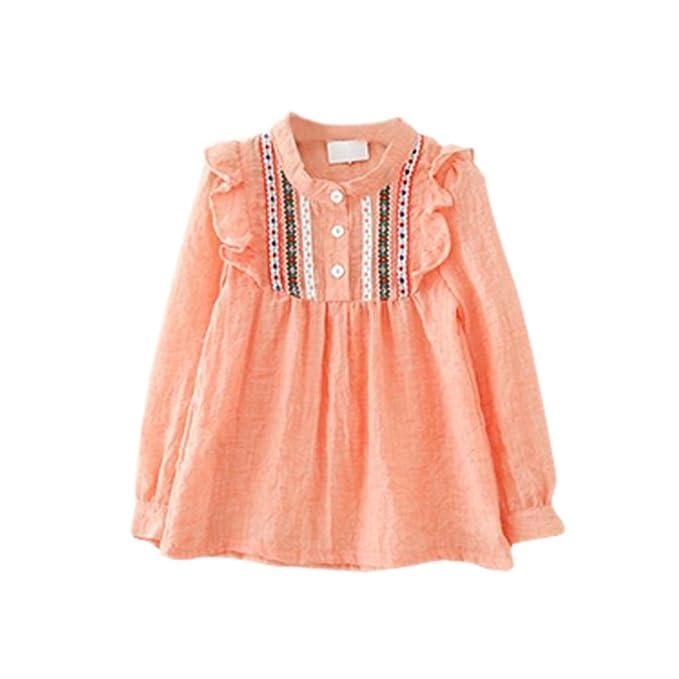 BOBORA - Blusa - para niña Naranja naranja Small