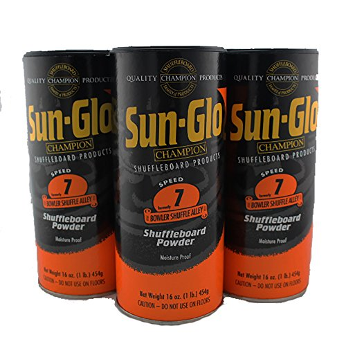 Wax 2000 (Sun-Glo #7 Speed Shuffleboard Powder Wax - 3 Pack)