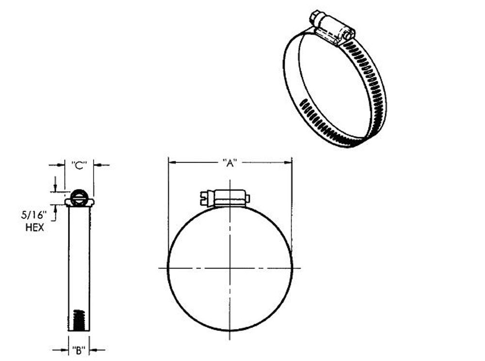 Conforms to ASTM F877//F2105 1//2 PEXGrip Clamps Oetiker Part 16707872 Pack of 500