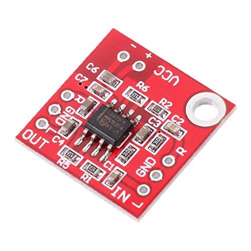 [해외] Baoblaze 앰프 보드 앰프 모듈 듀얼 채널 오디오 앰프 헤드폰 3V-6V