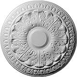 Ekena Millwork CM15CN 15 3/4-Inch OD x 3 1/4-Inch ID x 1 1/2-Inch Colton Ceiling Medallion
