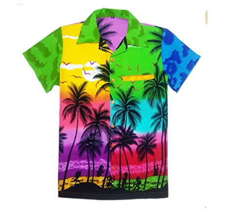 fda61a1fa MENS HAWAIIAN SHIRT STAG BEACH HAWAII ALOHA PARTY SUMMER HOLIDAY FANCY MIX  PALM - Buy Online in UAE. | Clothing Products in the UAE - See Prices, ...