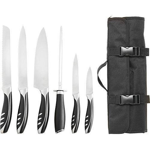 chef bag pack with knife set - 7