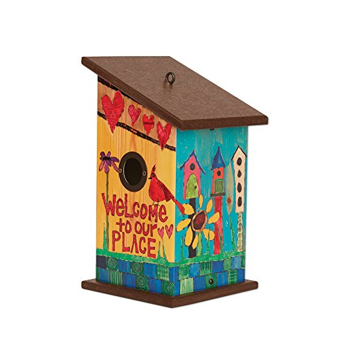 (Studio M PP412 Birds House, 7 x 12.25-Inches Welcome to Our Place)