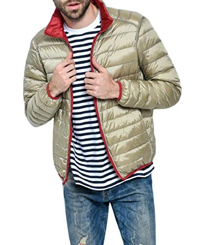 Comprimibile Uomini Piumino Colletto Outwear Alla Gocgt E Coreana Leggero Cappotti Di Degli 4 wTqH4Xq