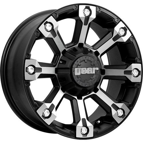 Gear Alloy Backcountry 20x9 Black Wheel / Rim 6x135 & 6x5.5 with a 18mm Offset and a 108.00 (2014 Escalade Rims)
