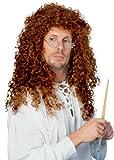 Wig Curly Extra LONG, Auburn