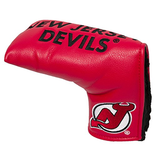 Team Golf NHL New Jersey Devils Golf Club Vintage Blade Putter Headcover, Form Fitting Design, Fits Scotty Cameron, Taylormade, Odyssey, Titleist, Ping, - New Ping Putter