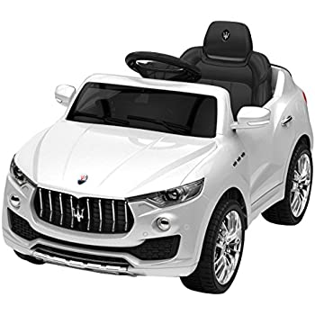 costzon 6v licensed maserati kids ride on car opening doors with parental remote control swing