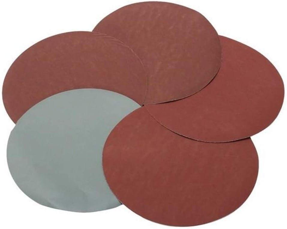 Accessoires de pon/çage 600-3000 Grit 6 pouces Pon/çage Disques Sandpaper 25pcs
