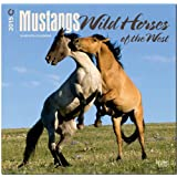Mustangs, Wild Horses of the West 2015 Square 12x12 (Multilingual Edition)