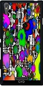Funda para Sony Xperia T3 - Bosque Gráfico by Lydia Cheval