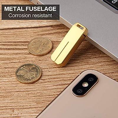UPSTONE 128GB USB 30 Flash Drives Pen Drive Memory Stick Thumb Drive USB Drives Silver 128GB