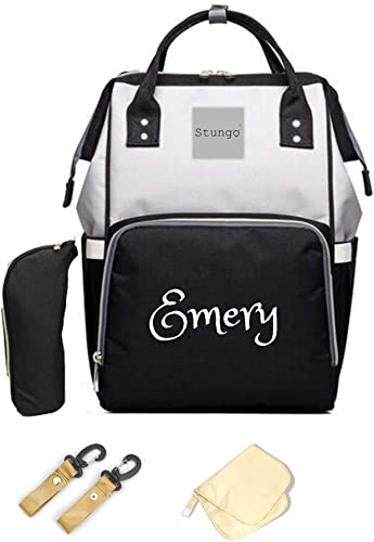 Amazon.com: Bolsa de pañales grande personalizada, bolsa de ...