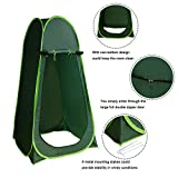 Caymus Ole Portable Pop up Camping Privacy Shelters Beach Toilet Shower Changing Room Green Review