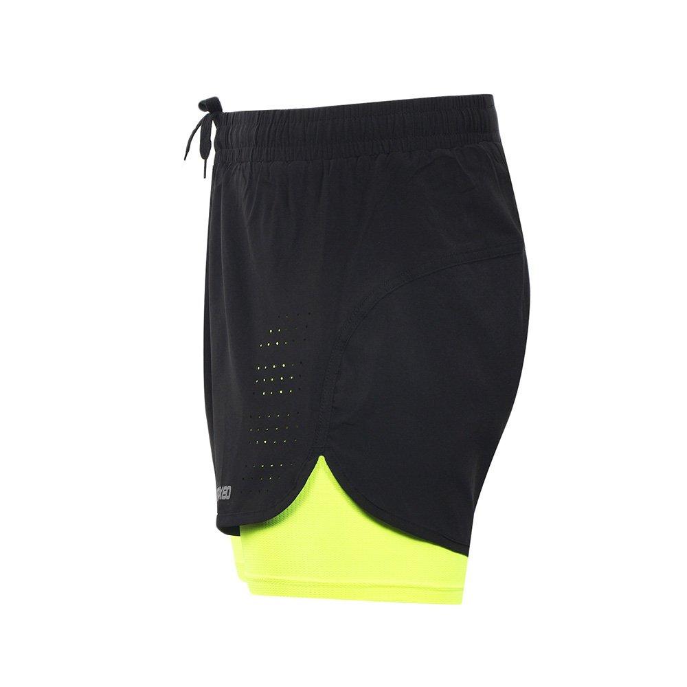 Arsuxeo Men s Active Training Pantaloncini da Corsa 2/in 1