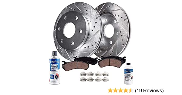 Front Brake Calipers Rotors Ceramic Pads For 2009 2010 2011 2012 CHEVY TRAVERSE