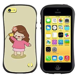 "Hypernova Slim Fit Dual Barniz Protector Caso Case Funda Para Apple iPhone 5C [Jugar Madre Mamá minimalista Chica""]"