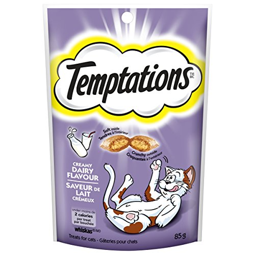 Temptations Classic Treats For Cats Creamy Dairy Flavor 3 Ounces (Pack Of 12) Review