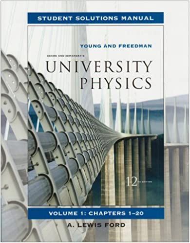 amazon com university physics volume 1 student solutions manual rh amazon com university physics 12th edition solution manual university physics 12th edition solutions manual pdf download