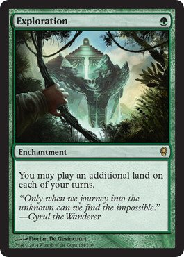 Magic The Gathering - Exploration (164/210) - Conspiracy from Magic The Gathering