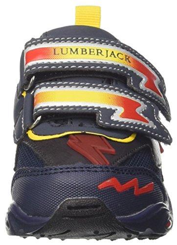 blue Zapatilla Baja red Wrap Lumberjack Niños Bright Blu 40Uwc