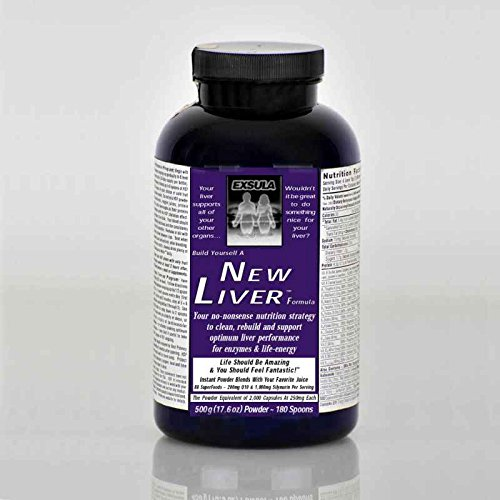 Exsula Superfoods New Liver - Detox Your Liver - Efficient Fat Metabolism - Speed Up Weight Loss (Powder: 170 g) by Exsula Superfoods
