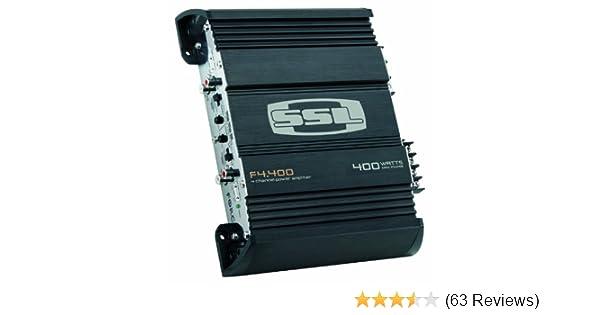 Amazon com: Sound Storm Laboratories F4 400 400-Watt 4