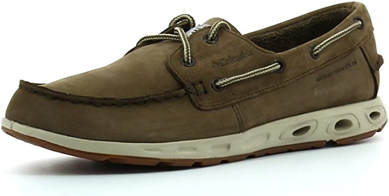 Columbia Bonehead Vent Leather PFG, Mocassins Homme