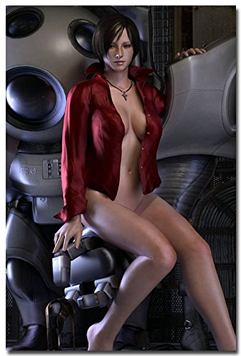 Tomorrow sunny Resident Evil 6 Game Art Silk Poster Print 24x36 inch Ada Wong Robot 014