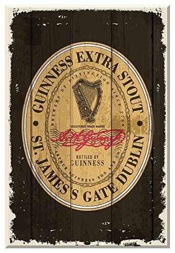 Guinness Heritage Label Wallart ()