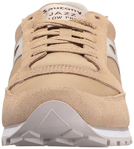 Uomo Saucony 233 Sneaker Tan Scarpe cream 2866 Ai17 AEr7xEOqnw