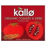 Kallo Organic Tomato & Herb Stock Cubes - 6 x 11g (0.15lbs)