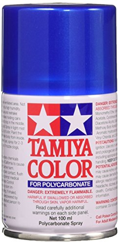 Tamiya America, Inc Polycarbonate PS-16 Metal Blue, Spray 100 ml, - Paint Metallic Blue