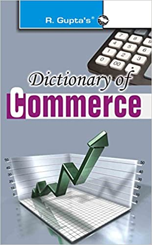 Dictionary Of Commerce Book