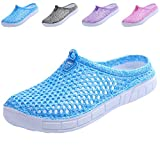 clootess Women Garden Clogs Shoes Slippers Sandals Quick Drying Walking Ladies House Room Indoor Outdoor Shower Sport Home Summer Breathable Light EVA 7 B(M) US JD-Blue 38