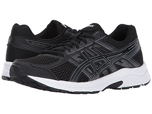 ASICS Women's Gel-Contend 4 Running-Shoes, Black/Black/Carbon, 9 Medium US