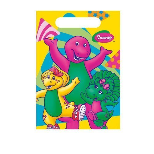 Factory Card and Party Outlet Barney Treat Sacks