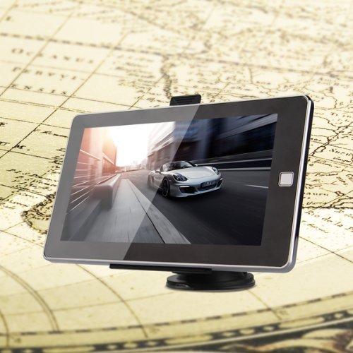Ybk Tech GPS 17,8cm écran tactile GPS Auto Navigator gratuit UK UE au US CA Maps, Parasol inclus product image