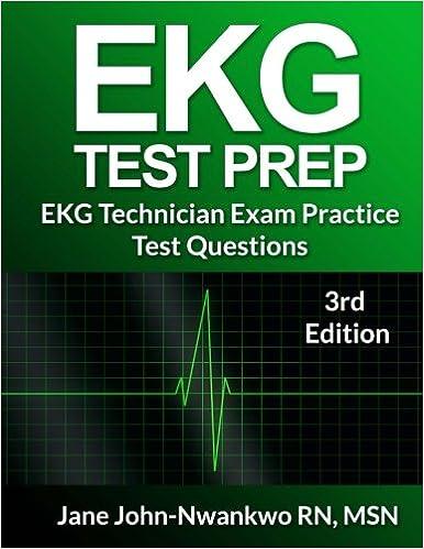 Ekg test prep ekg technician practice test questions 9781533456380 ekg test prep ekg technician practice test questions 9781533456380 medicine health science books amazon fandeluxe Gallery