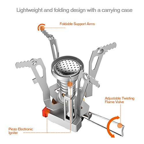 Camping stove sahara sailor portable collapsible outdoor Propane stove left on overnight